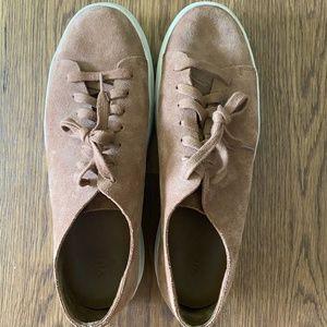 Suede Vince shoes